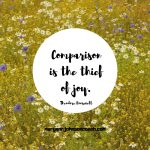 Why You Should STOP Comparing